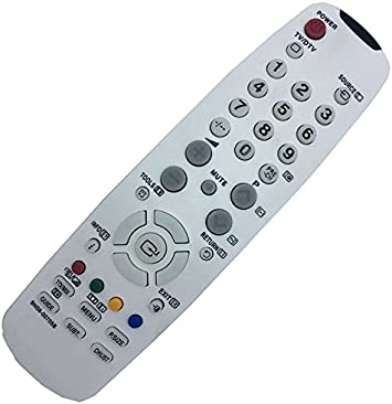 allimity BN59-00705B Reemplace Remote Control Sub para BN59-01041A para SAMSUNG TV LE22A656 LE19A656 LE19A656A1D LE22A656A1D LA32A550 LE32A336 LE32A456 LA32A550 LA32A650 LE37A336 LE40A336: Amazon.es: Electrónica