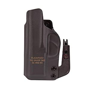 Sig Sauer Appendix P365 IWB Black Carry Holster
