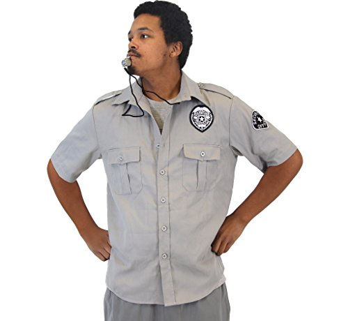 Security Top Costumes Flight (Friday After Next Top Flight Security Shirt and Whistle Costume Set)