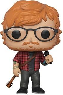 MERCHCODE Ladies Ed Sheeran con Guitarra Camiseta para Mujer: Amazon.es: Ropa y accesorios
