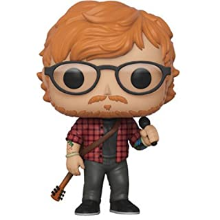 Funko POP! Rocks: Ed Sheeran,Multicolor