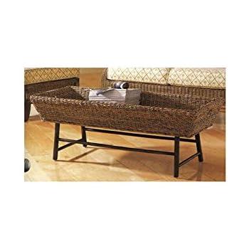 This Item Padma S Plantataion Basket Coffee Table