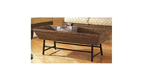 Padma's Plantataion Basket Coffee Table - Padmas Plantation Loft