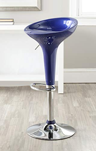 tion Sacha Navy Blue Adjustable Swivel Gas Lift 23.2-31.7-inch Bar Stool ()