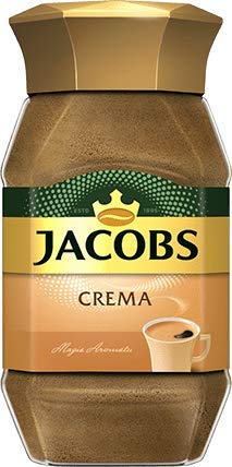Jacobs Crema Gold COFFEE - 1 jar - 100g -