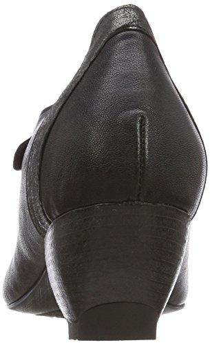 Zwoa Think Black Heels kombi 09 Women's Ankle kombi 09 282214 sz Strap Sz CrZH5pWr1n