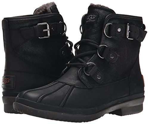 UGG Women's Cecile Winter Boot, Black, 8 B US by UGG (Image #6)