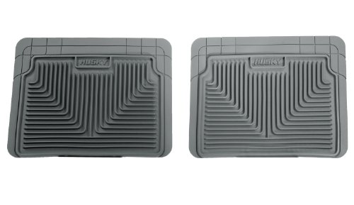 Husky Liners Custom Fit Heavy Duty  Rear Floor Mat (Grey)