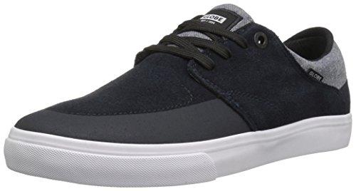 Klot Mens Jaga Skateboard Skor Marinblå / Vit