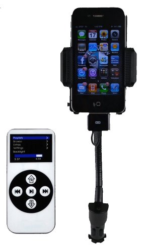 DandyCase FM Transmitter Car Charger for Apple iPhone 5, Gal