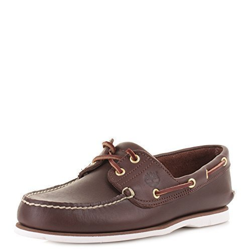 08ffeec08 Mens Timberland Earthkeepers Classic 2 Eye Brown Leather Boat Deck Shoes  SIZE 7  Amazon.co.uk  Shoes   Bags