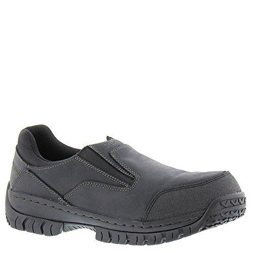 Skechers Werken Relaxed Fit Hartan Ponus Heren Slip Op Loafers Zwart 9