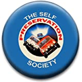 Self Preservation Society Badge by RetroBadge