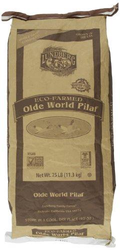 Lundberg Olde World Pilaf Brown Rice and Lentil Blend, 25-Pound by Lundberg