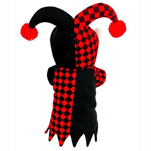 [Hippih Funny Pet Cosplay Costume Dressing up Party Clothing for Dog,Clown (RM)] (Halloween Clowns)