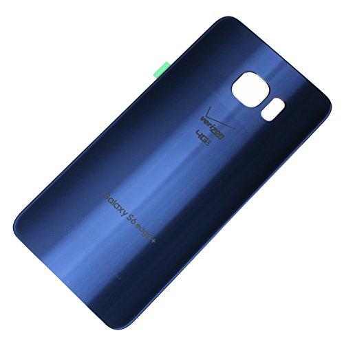 - RBC Battery Back Door Glass Housing Cover For Samsung Galaxy S6 edge+ Plus Verizon G928V Blue