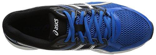 Zapato de running Gel-cont¨¦ 3 para hombre, azul / blanco / negro el¨¦ctrico, 6 m US