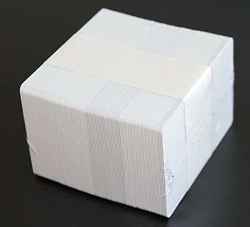 CardPlus PVC Plastikkarte, weiß (VPE: 100 Stück)
