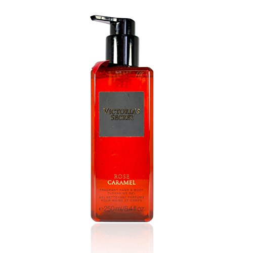 Victoria's Secret ROSE CARAMEL Fragrant Hand & Body cleansing gel