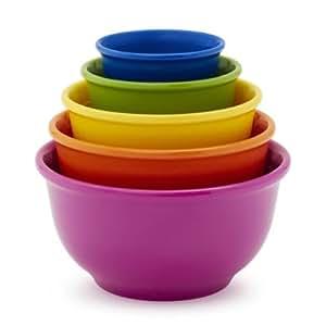 Sur la table set of five prep bowls pp0320 for Sur la table mixing bowls