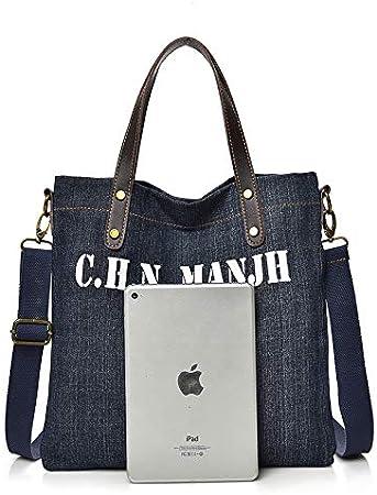 ZSBBshop Bolso Bolso Minimalista para Mujer, Bolso, Jeans