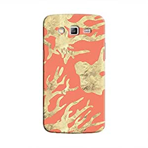 Cover It Up - Red Nature Print Galaxy Grand Prime Hard case