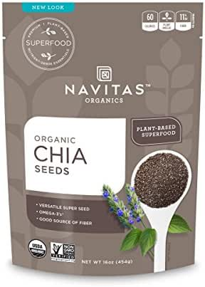 Nuts & Seeds: Navitas Organics Chia Seeds