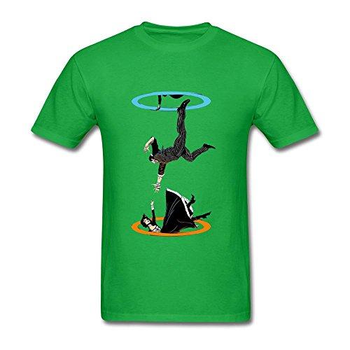 Price comparison product image SLJD Men's The Infinite Loop Bioshock Design T Shirt