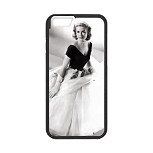 iPhone 6 Plus 5.5 Inch Cell Phone Case Black Grace Kelly 002