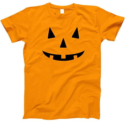 Jack O Lantern Costumes Tshirt (Jack O Lantern Halloween Pumkin Costume T-Shirts Orange Small)