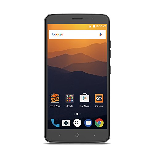 Zte Max Xl 16Gb   Prepaid   Carrier Locked  Boost Mobile