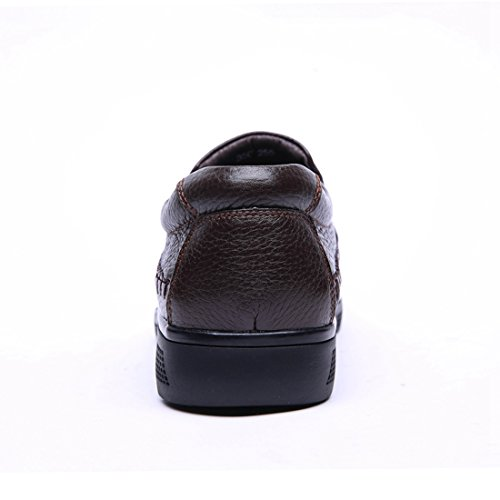 Minitoo LHEU-LH3501, Mocassins pour Homme Marron