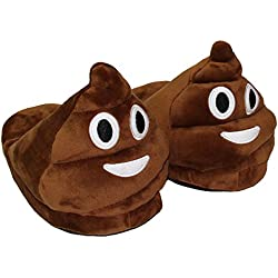 Type 4 Winter Funny Adult Emoji Cartoon Warm Slippers Plush Slippers Expression Half a Pack With Wool Slippers zapatilla casa