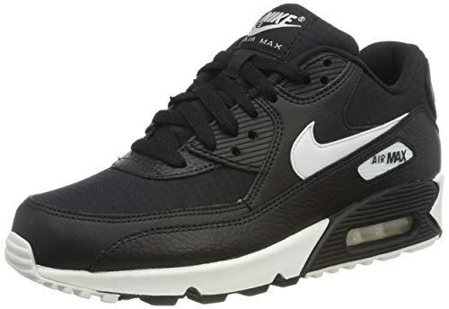 size 40 2e3be a9b95 Nike Women s s WMNS Air Max 90 Running Shoes Summit White Black 060, 2.5 UK