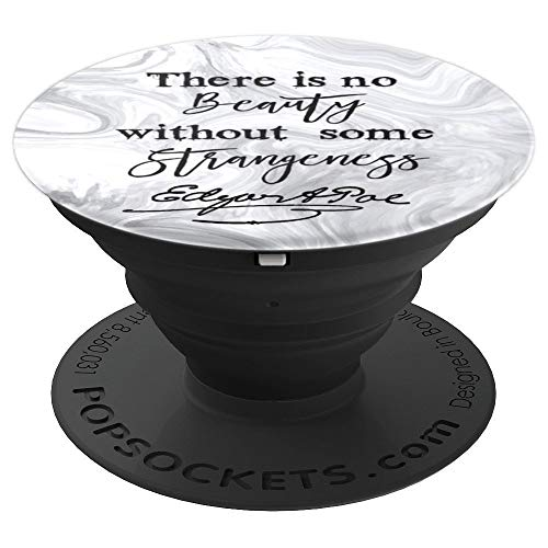Edgar Allan Poe Gothic Artist Writer Book Teen Gift Marble - PopSockets Grip and Stand for Phones and Tablets -