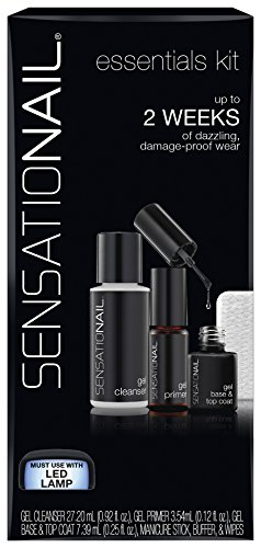 SensatioNail Gel Polish Essentials Kit, 1.29 fl oz
