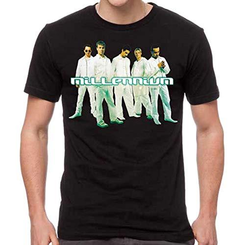 GLOBAL Backstreet Boys Men's Cut Out Slim-Fit T-Shirt 2XL