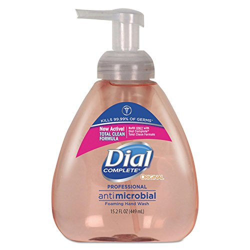 Dial Professional 98606 Antimicrobial Foaming Hand Wash, Original Scent, 15.2oz (Case of 4) ()