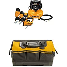 BOSTITCH BTFP3KIT 3-Tool and Compressor Combo Kit w/Tool Bag