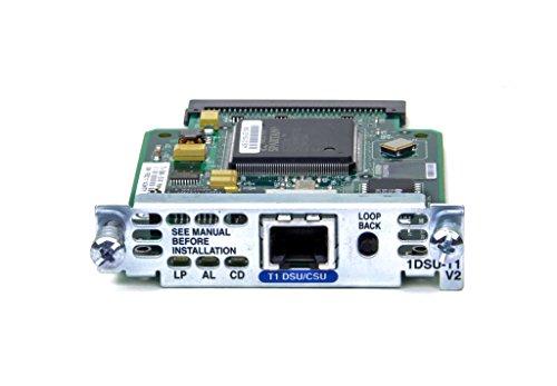 Cisco 1600 Series (Cisco T1 DSU/CSU WIC Card- 1DSU-T1-V2)