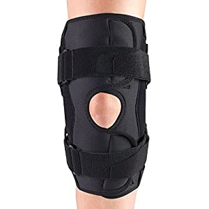 OTC Knee Stabilizer Wrap, Hinged Bars, Orthotex, 3X-Large