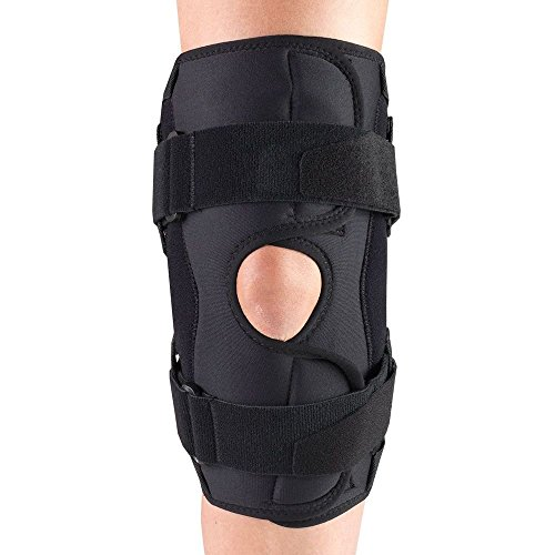 OTC Knee Stabilizer Wrap, Hinged Bars, Orthotex, Large