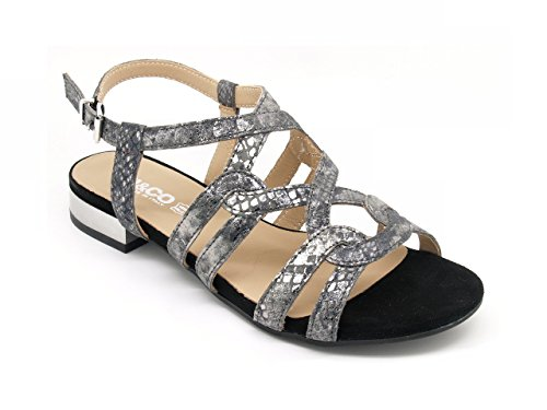 Women's Fashion amp;Co silver Sandals silver Igi YOxEww