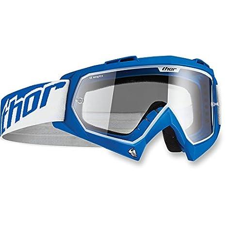 Thor Enemy Kinder Motocross Brille Enduro Offroad Cross Mx Sx Quad Blau Rot Weiß Blau Pink (Blau) 2601-0719-GM