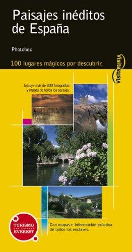 Paisajes inéditos de España (Visita / Serie Amarilla): Amazon.es: PHOTOBOX (José Manuel Gutiérrez): Libros