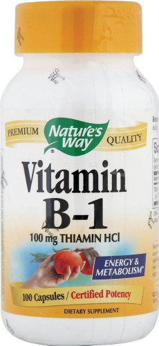 Natures Way Vitamin 100mg Capsules product image