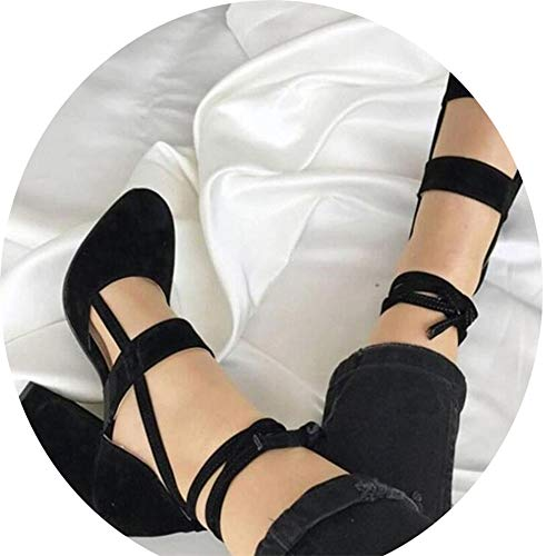 elepbaba High Heels 8CM Women Pumps Wedding Dress Shoes Woman Valentine Stiletto High Heels Shoes