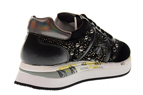 CONNY low BLACK 1621 Black shoes shoe women's PREMIATA U47qSwIzU