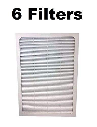 6 Air Purifier Filters for BlueAir 500/600 Series Fits 501 503 550E 601 603 - Series 601