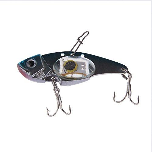 Lemonbest new led light up fishing lure bait attracting for Light up fishing spinners